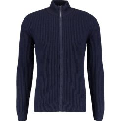 Swetry rozpinane męskie: GStar MIRTAM ZIP THROUGH KNIT L/S Kardigan dark saru blue heather