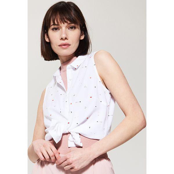 d4865ae111962d Wzorzysta koszula - Różowy - Różowe koszule damskie House, s. W ...