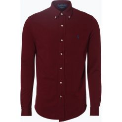 Polo Ralph Lauren - Koszula męska, czerwony. Szare koszule męskie marki Polo Ralph Lauren, l, z bawełny, button down, z długim rękawem. Za 349,95 zł.