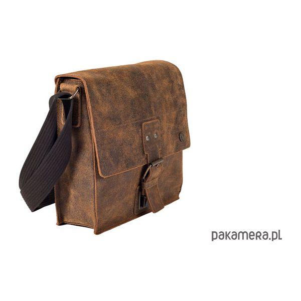 8a06a9cbe1bf4 Torba na ramię LAND 3 brąz - Brązowe torby męskie skórzane Pakamera, bez  wzorów, ze skóry, na ramię. Za 199,00 zł. - Torby męskie skórzane - Torby i  plecaki ...