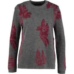 Swetry klasyczne damskie: Cortefiel Sweter grey