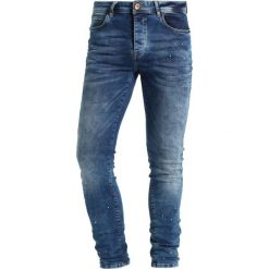 Cars Jeans DUST Jeans Skinny Fit blue dots. Czarne jeansy męskie relaxed fit marki Criminal Damage. Za 249,00 zł.