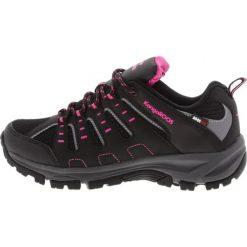 Buty sportowe damskie: KangaROOS BOTAR  Obuwie hikingowe black/magenta