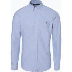 Polo Ralph Lauren - Koszula męska Oxford, niebieski. Niebieskie koszule męskie na spinki Polo Ralph Lauren, m, ze splotem, polo. Za 449,95 zł.