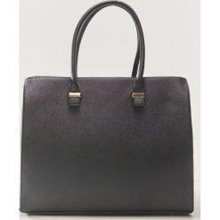 Torba tote - Czarny. Czarne torebki klasyczne damskie marki House. Za 69,99 zł.