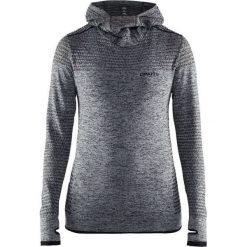 Craft Bluza damska Core Seamless Hood szara r. M (1904871-1998). Czarne bluzy sportowe damskie marki Craft, m. Za 190,65 zł.