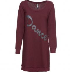 Sukienka dresowa z nadrukiem bonprix czerwony klonowy. Szare sukienki dresowe marki Molly.pl, na co dzień, m, sportowe, z falbankami, rozkloszowane. Za 59,99 zł.