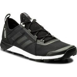 Buty adidas - Terrex Agravic Speed CM7577 Cblack/Cblack/Cblack. Czarne buty do biegania męskie Adidas, z materiału, adidas terrex. W wyprzedaży za 399,00 zł.