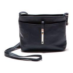 Torebka w kolorze granatowym - (S)22 x (W)18 x (G)5 cm. Niebieskie torebki klasyczne damskie Bestsellers bags, w paski, z materiału. W wyprzedaży za 159,95 zł.