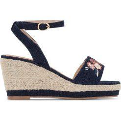 Rzymianki damskie: Sandały na koturnie, na szeroką stopę 38-45