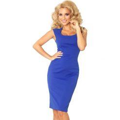 Villette Dopasowana sukienka - chabrowa. Niebieskie sukienki balowe numoco, s, z materiału, dopasowane. Za 149,99 zł.