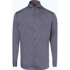 HUGO - Koszula męska łatwa w prasowaniu – Vepic, szary. Szare koszule męskie non-iron marki HUGO, m, z materiału, z włoskim kołnierzykiem. Za 349,95 zł.