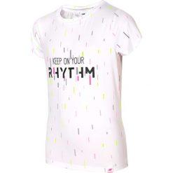Bluzki dziewczęce: Koszulka sportowa dla dużych dziewcząt JTSD403 – biały