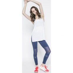 Adidas Performance - Legginsy. Szare legginsy adidas Performance, l, z aplikacjami, z bawełny. W wyprzedaży za 149,90 zł.