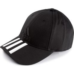 Czapki męskie: Czapka adidas – 6p 3s Cap Cotto S98156 Black/Black/White