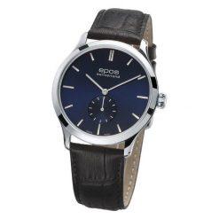 ZEGAREK EPOS Originale 3408.208.20.16.15. Niebieskie zegarki męskie EPOS, ze stali. Za 5450,00 zł.