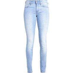 GStar 3301 MID SKINNY  Jeans Skinny Fit blue. Niebieskie jeansy damskie relaxed fit marki G-Star. W wyprzedaży za 298,35 zł.