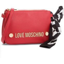 Torebka LOVE MOSCHINO - JC4308PP06KU0000  Rosso. Czerwone listonoszki damskie Love Moschino, ze skóry ekologicznej. Za 719,00 zł.