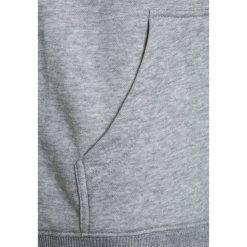 DC Shoes REBUILT RAGLAN BOY Bluza z kapturem dark indigo/heather grey. Czarne bluzy chłopięce rozpinane marki DC Shoes, z bawełny. W wyprzedaży za 233,10 zł.