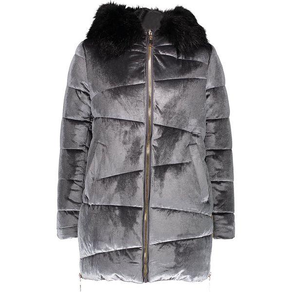 404e0f7068fac2 Szare kurtki damskie zimowe - Zniżki do 80%! - Kolekcja 2019 - myBaze.com