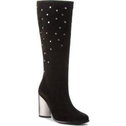 Kozaki EVA MINGE - Alcor 4AE 18SF1372614EF  801. Czarne buty zimowe damskie marki Eva Minge, ze skóry. W wyprzedaży za 519,00 zł.
