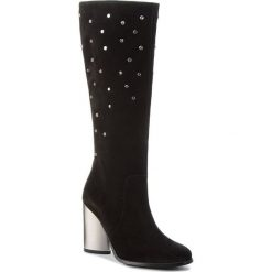 Kozaki EVA MINGE - Alcor 4AE 18SF1372614EF  801. Czarne buty zimowe damskie Eva Minge, ze skóry. Za 739,00 zł.