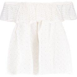 Bluzki asymetryczne: Rebecca Minkoff CELESTINE Bluzka white