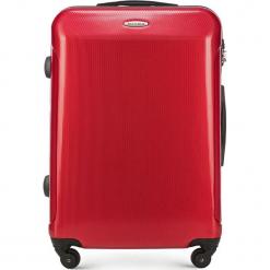Walizka średnia 56-3P-972-30. Czerwone walizki marki Wittchen, z gumy, średnie. Za 199,00 zł.