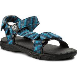 Sandały JACK WOLFSKIN - Seven Seas 2 Sandal B 4029951 S Glacier Blue. Czarne sandały chłopięce marki Jack Wolfskin, w paski, z materiału. W wyprzedaży za 159,00 zł.