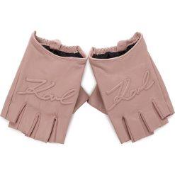 Rękawiczki Damskie KARL LAGERFELD - 86KW3608 Ballet. Czerwone rękawiczki damskie KARL LAGERFELD, ze skóry. Za 459,00 zł.