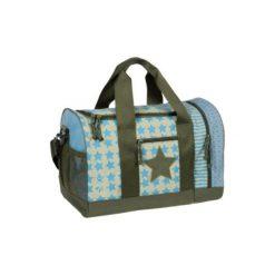 Lässig  Mini Torba sportowa Starlight Oliv - niebieski. Niebieskie torby podróżne Lässig, z materiału, duże. Za 147,00 zł.