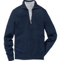 Swetry męskie: Sweter Regular Fit bonprix ciemnoniebieski