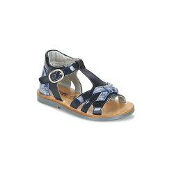 Sandały Dziecko  Citrouille et Compagnie  IFIABANY. Niebieskie sandały dziewczęce marki Citrouille et Compagnie. Za 143,20 zł.