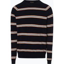Review - Sweter męski, niebieski. Niebieskie swetry klasyczne męskie marki Review. Za 179,95 zł.