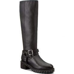 Buty zimowe damskie: Kozaki BRONX - 14118-A BX 1417 Black/Silver 187