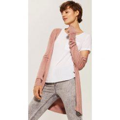 Bluzki asymetryczne: Bluzka z kieszonką - Biały