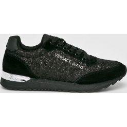 Versace Jeans - Buty. Czarne buty sportowe damskie Versace Jeans, z jeansu. Za 699,90 zł.