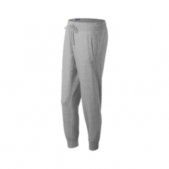 New Balance WP63553AG. Szare spodnie dresowe damskie marki New Balance, l, z bawełny. W wyprzedaży za 129,99 zł.