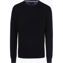 Nils Sundström - Sweter męski, niebieski. Niebieskie swetry klasyczne męskie Nils Sundström, m, z bawełny. Za 179,95 zł.