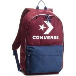 Plecak CONVERSE - 10007031-A05  613. Czerwone plecaki damskie Converse, z materiału, sportowe. Za 139,00 zł.