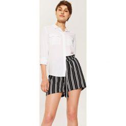 Gładka koszula - Biały. Białe koszule damskie marki House, l. Za 59,99 zł.