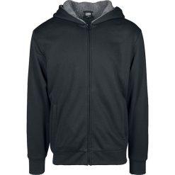 Urban Classics Sherpa Lined Zip Hoody Bluza dresowa czarny/szary. Niebieskie bluzy dresowe męskie marki Urban Classics, l, z okrągłym kołnierzem. Za 199,90 zł.