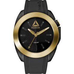 Zegarki męskie: Zegarek kwarcowy w kolorze czarno-złotym