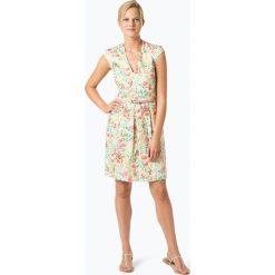 Esprit Collection - Sukienka damska, beżowy. Brązowe sukienki hiszpanki Esprit Collection, w paski, z dekoltem w serek. Za 359,95 zł.