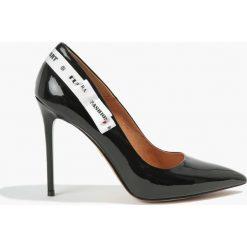 Buty ślubne damskie: Czółenka czarne Donna