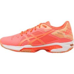 Buty trekkingowe damskie: ASICS GELSOLUTION SPEED 3 CLAY L.E. Obuwie do tenisa Outdoor flash coral/canteloupe/apricot