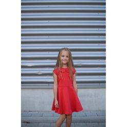 Sukienka Amelia Czerwona. Czerwone sukienki dziewczęce z falbanami Pakamera, eleganckie. Za 69,00 zł.
