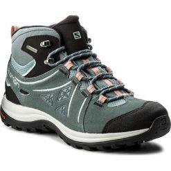 Buty trekkingowe damskie: Trekkingi SALOMON - Ellipse 2 Mid Ltr Gtx GORE-TEX W 401626 20 V0 Lead/Stormy Weather/Coral Almond