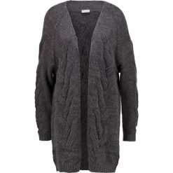 Swetry damskie: Vila VIDEN  Kardigan dark grey melange