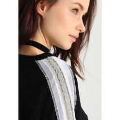 Bluzy rozpinane damskie: Navy London MISSY Bluza black